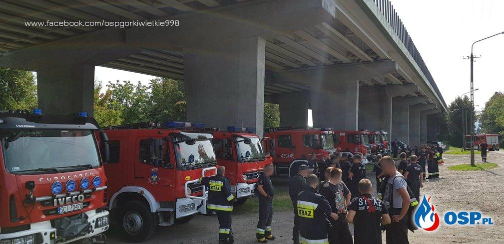 Ćwiczenia Kompanii Odwodowej nr 3 - Cieszyn OSP Ochotnicza Straż Pożarna