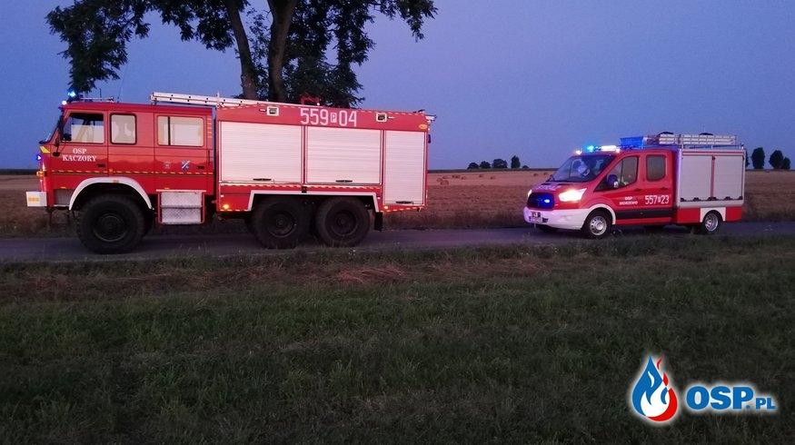 [10/P/2020] Pożar ścierniska w miejscowości Dziembowo OSP Ochotnicza Straż Pożarna