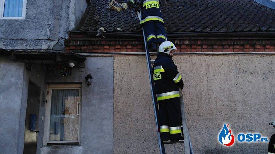 Kolejny pożar budynku wielorodzinnego w miejscowości Smykowo OSP Ochotnicza Straż Pożarna