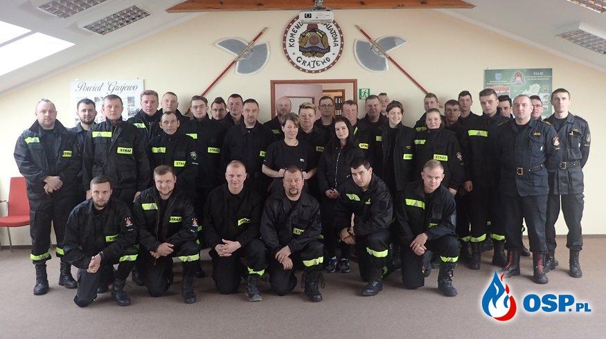 Szkolenie podstawowe strażaków OSP OSP Ochotnicza Straż Pożarna