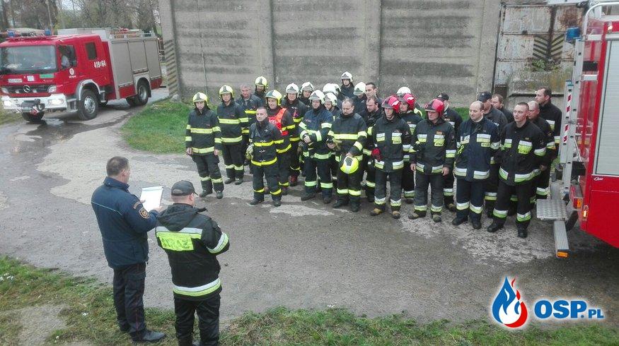 Ćwiczenia PL/CZ na terenie biogazowni w czeskim Rusinie OSP Ochotnicza Straż Pożarna