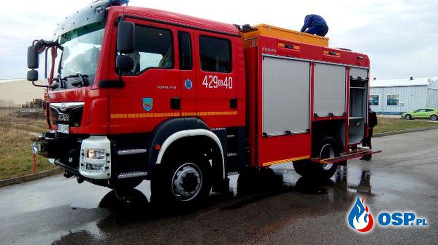 Nowy samochód dla OSP Grajewo OSP Ochotnicza Straż Pożarna