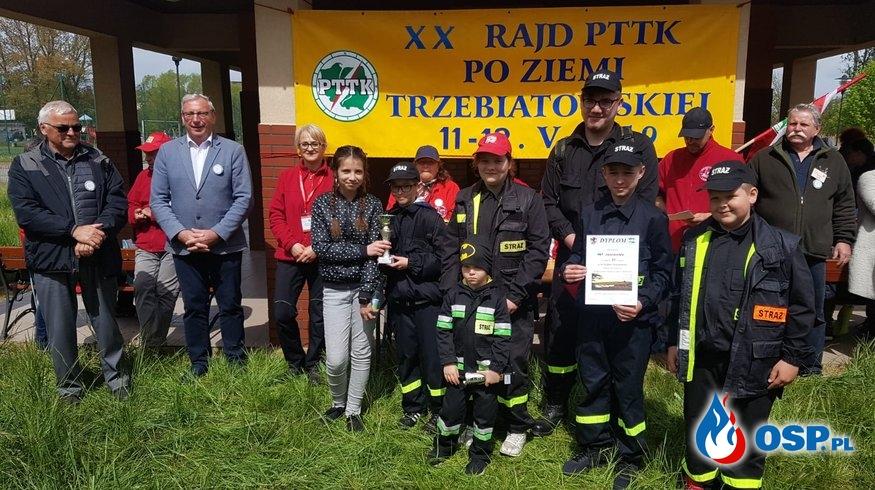 XX Rajd po Ziemi Trzebiatowskiej OSP Ochotnicza Straż Pożarna