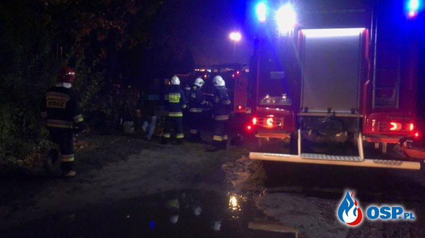 Pożar kuchni w budynku mieszkalnym OSP Ochotnicza Straż Pożarna