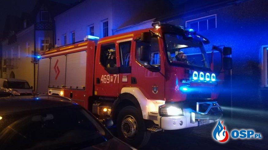 Pożar sadzy w przewodzie kominowym [5/2018] OSP Ochotnicza Straż Pożarna