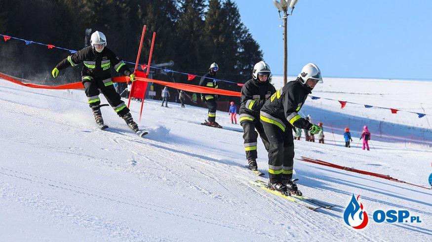 Narciarska rywalizacja strażaków OSP Ochotnicza Straż Pożarna