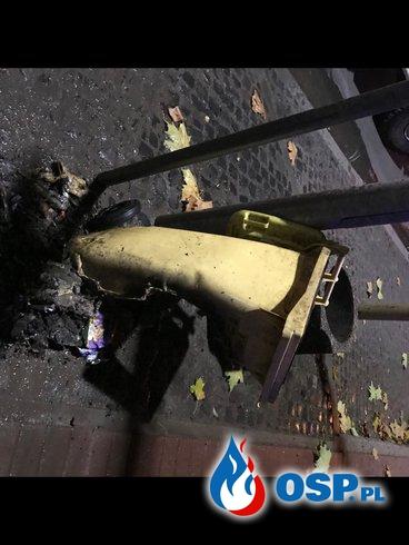 204/2020 Pożar śmietnika OSP Ochotnicza Straż Pożarna
