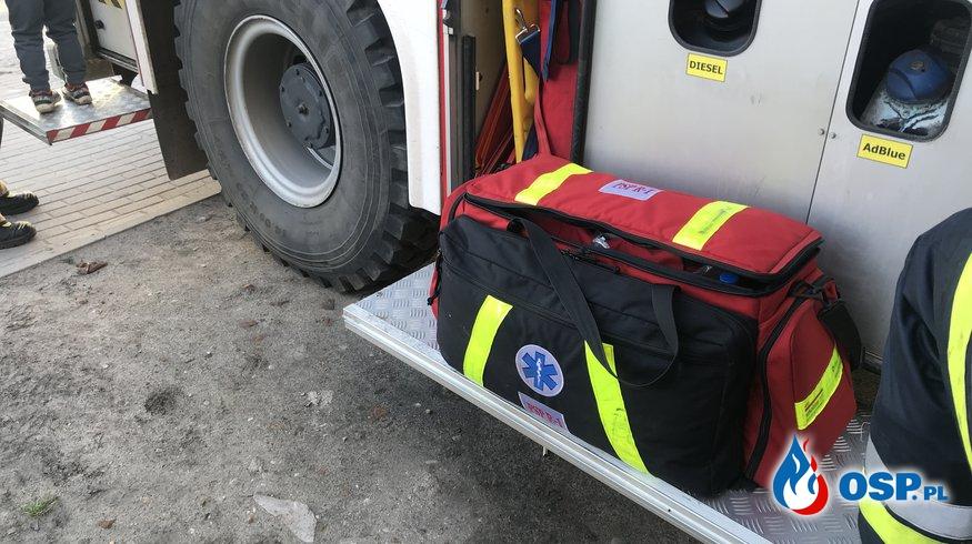 64/2021 Wyjazd za pogotowie OSP Ochotnicza Straż Pożarna