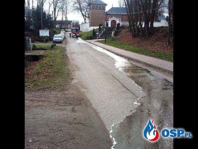 Niedzielne sprzątanie OSP Ochotnicza Straż Pożarna