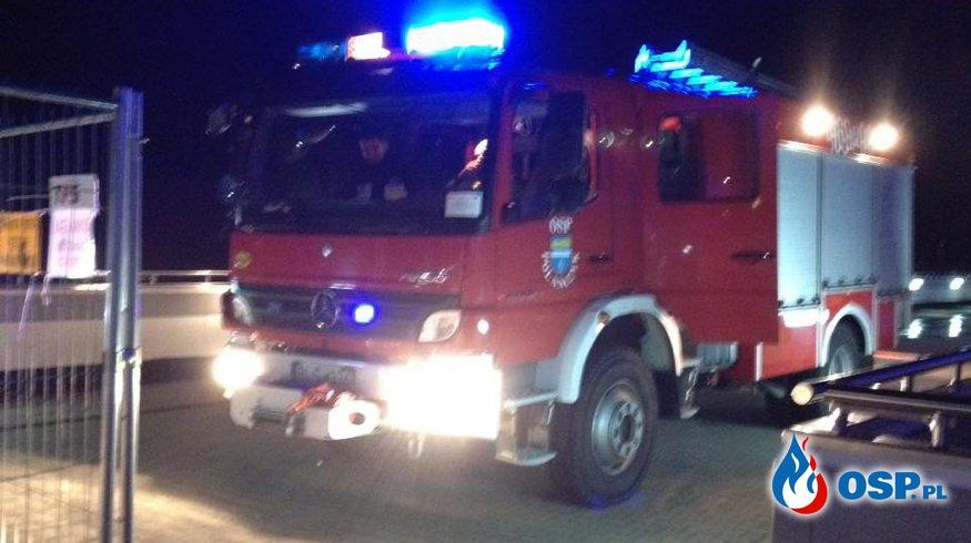 Mężczyzna skoczył z zapory w Solinie - nocny wyjazd OSP Polańczyk OSP Ochotnicza Straż Pożarna