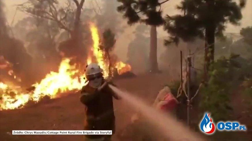 NIEOFICJALNE: Polscy strażacy lecą na pomoc w gaszeniu pożarów w Australii OSP Ochotnicza Straż Pożarna