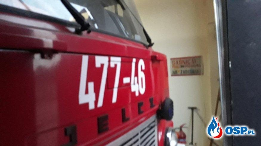 Pożar Słomy OSP Ochotnicza Straż Pożarna