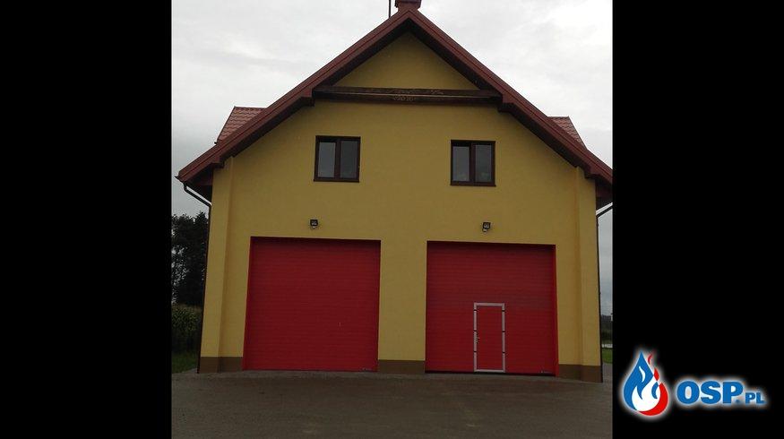 Otwarcie Remizy w Łączkach OSP Ochotnicza Straż Pożarna