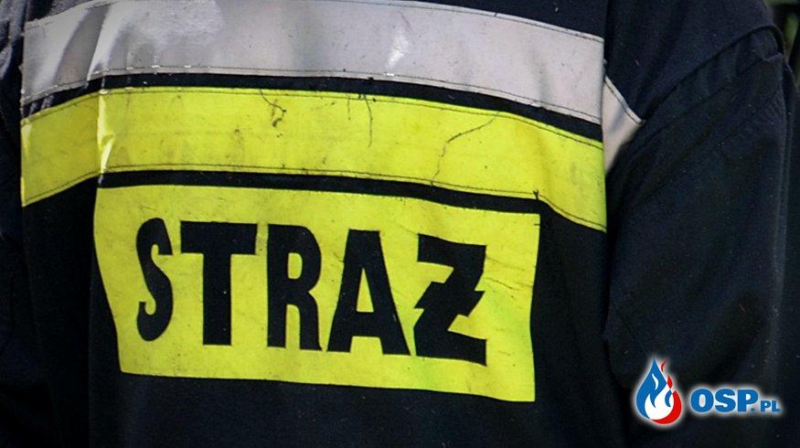 Motolotniarz wpadł do Odry OSP Ochotnicza Straż Pożarna