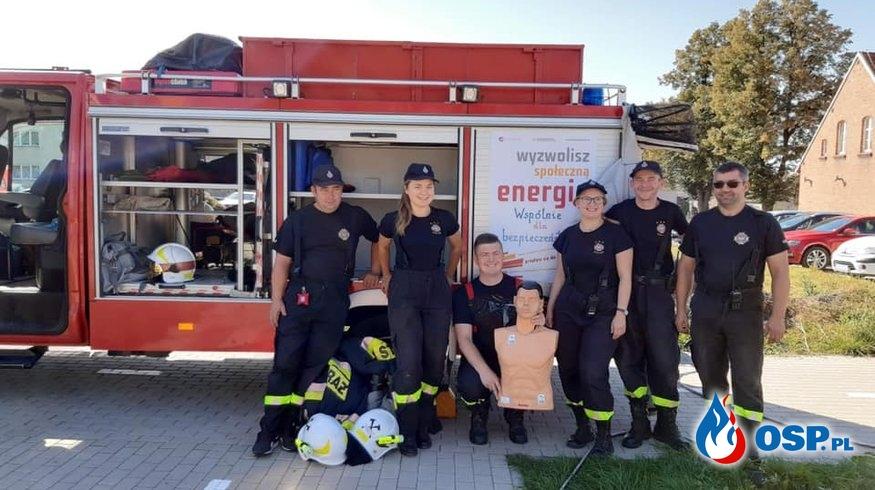 Pokaz ratowniczy w Nochowie OSP Ochotnicza Straż Pożarna