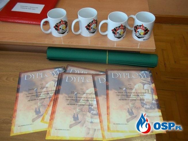 OTWP etap Szkolny OSP Ochotnicza Straż Pożarna