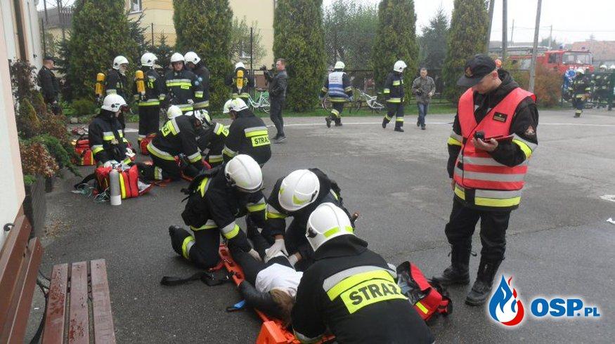 Powiatowe ćwiczenie obronne pk. BOA 2017 - POWIAT BOCHEŃSKI OSP Ochotnicza Straż Pożarna