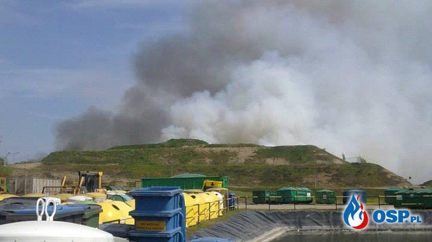 Pożar wysypiska ZUO OSP Ochotnicza Straż Pożarna