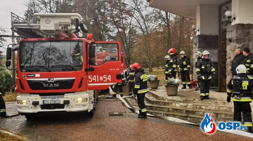 Biały Bór.Ćwiczenia Gminne OSP Ochotnicza Straż Pożarna