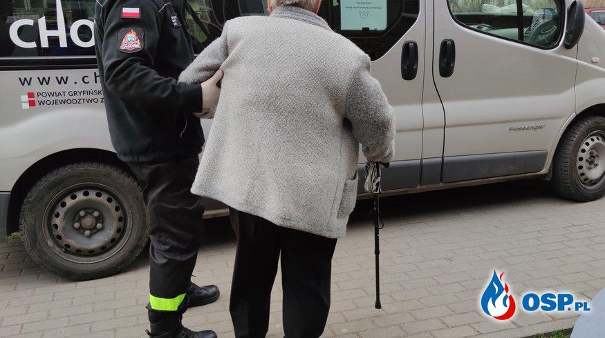 69/2021 Dowóz na szczepienia OSP Ochotnicza Straż Pożarna