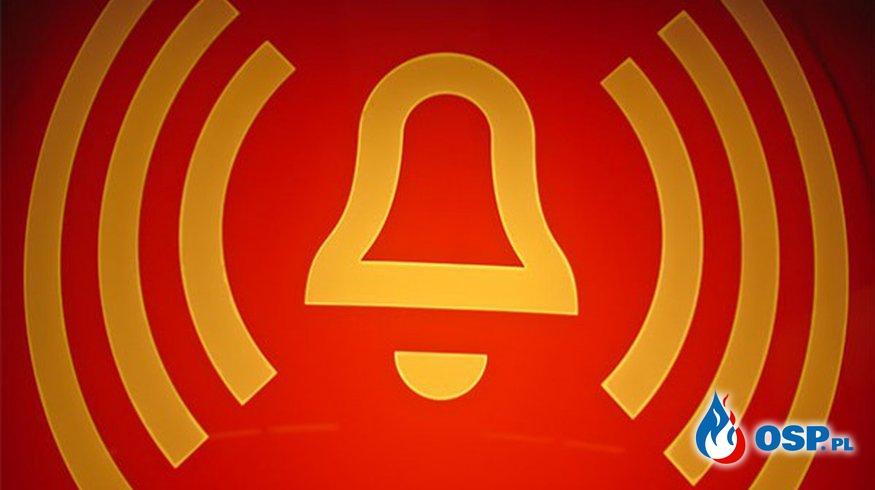 Pożar komina w Brynku  OSP Ochotnicza Straż Pożarna