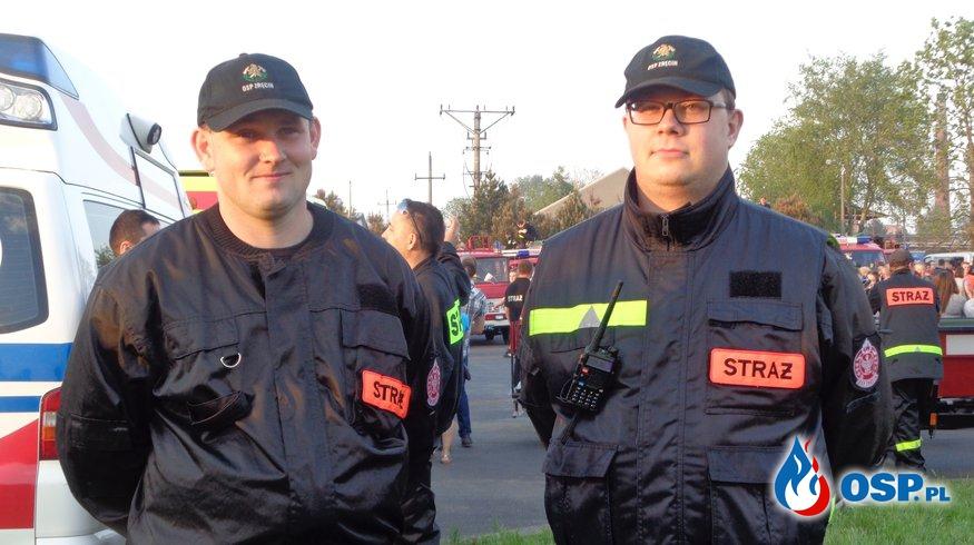 Nocna Jazda Ratowników dla Oliwki OSP Ochotnicza Straż Pożarna
