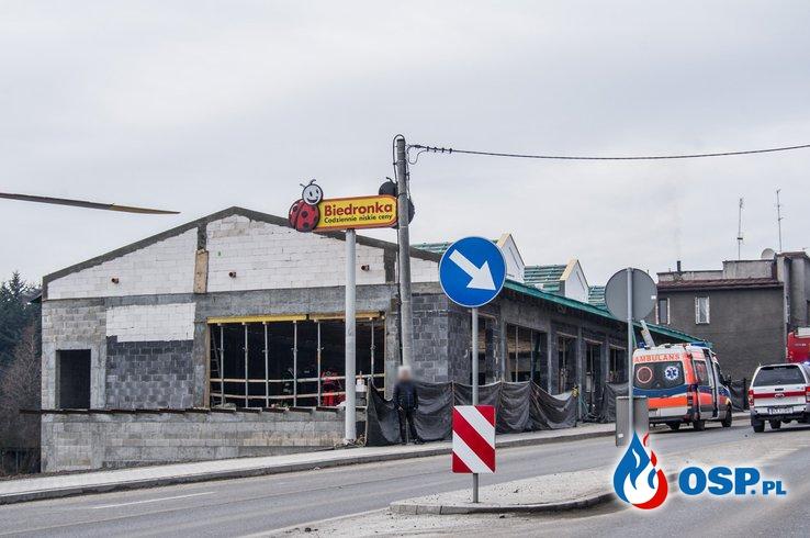 Strażak OSP Skrzydlna zginął w wypadku na budowie OSP Ochotnicza Straż Pożarna