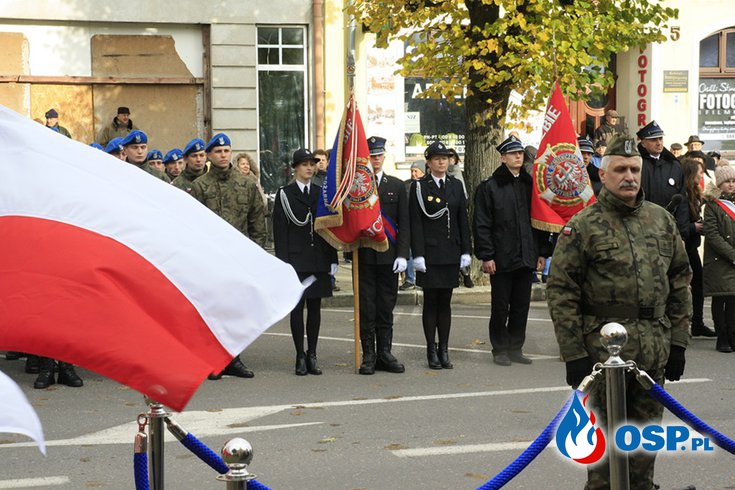 Święto Niepodległości w Trzebiatowie OSP Ochotnicza Straż Pożarna