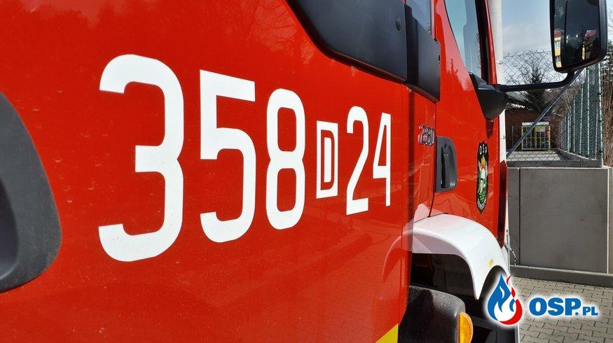 ALARM! 18/2020 OSP Ochotnicza Straż Pożarna