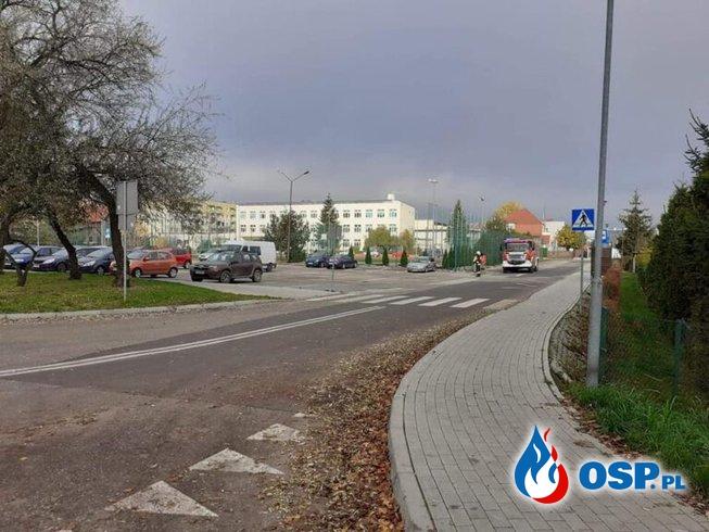 Wronki – uszkodzony gazociąg OSP Ochotnicza Straż Pożarna