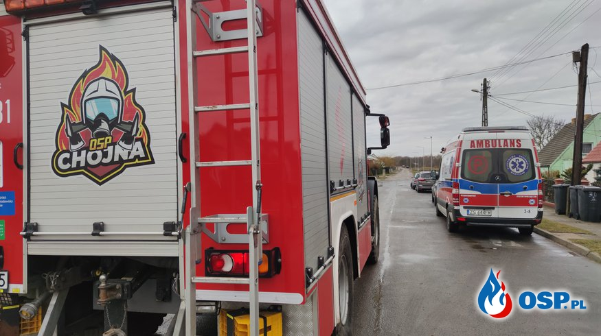 35/2021 Pomoc ZRM OSP Ochotnicza Straż Pożarna