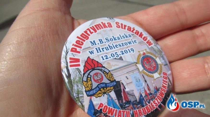 IV Pielgrzymka Strażaków do Sanktuarium Matki Bożej Sokalskiej w Hrubieszowie OSP Ochotnicza Straż Pożarna