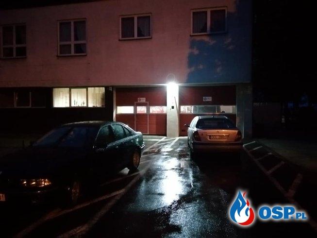 Włamanie do remizy OSP Przedmość. Złodziei spłoszył alarm. OSP Ochotnicza Straż Pożarna