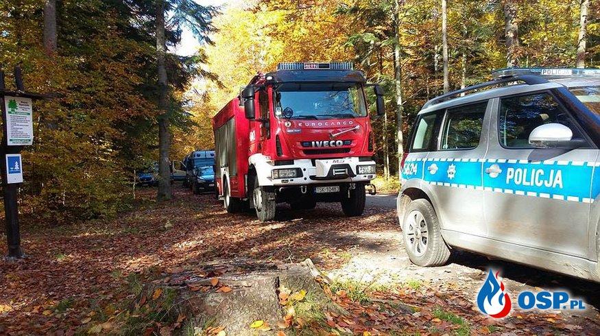 16.10.2017 - Ponowne poszukiwania 87-latka OSP Ochotnicza Straż Pożarna