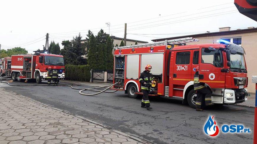 Pożar Drukarni w Bydgoszczy OSP Ochotnicza Straż Pożarna