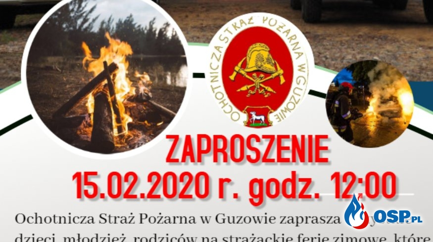 Strażackie ferie zimowe 2020 OSP Ochotnicza Straż Pożarna