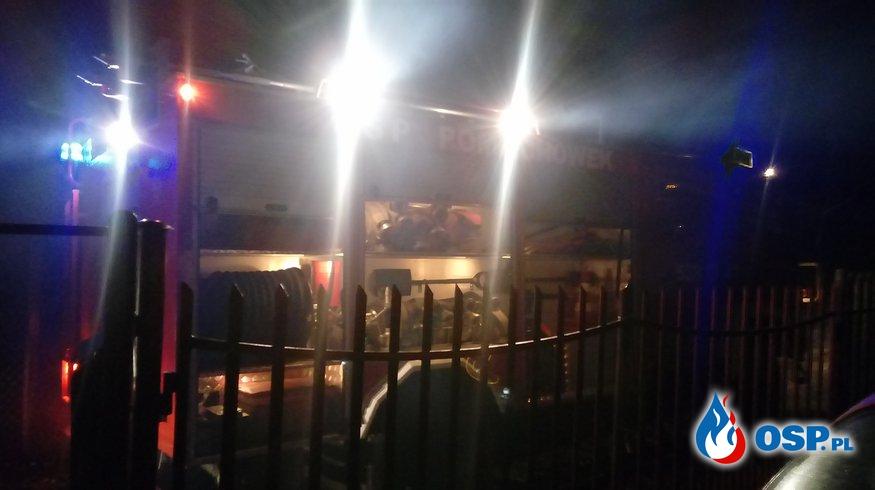 Wigilia Pożar sadzy w kominie OSP Ochotnicza Straż Pożarna
