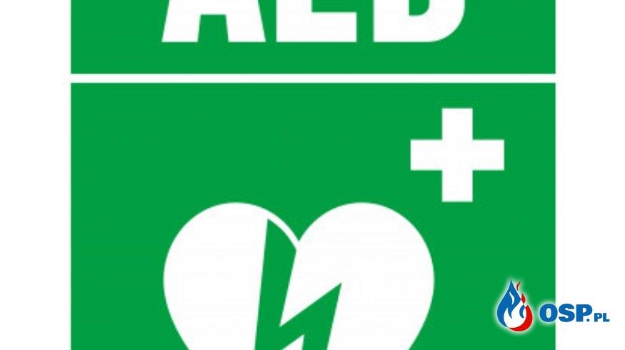 AED - to takie proste! OSP Ochotnicza Straż Pożarna