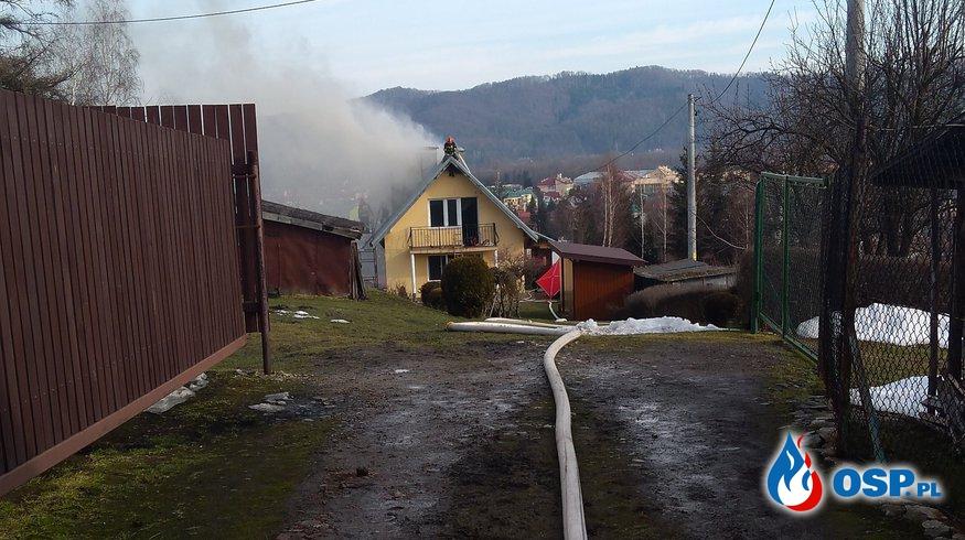 Tragiczny finał niedzielnego pożaru OSP Ochotnicza Straż Pożarna