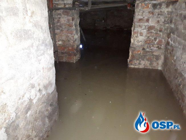Usuwanie skutków powodzi OSP Ochotnicza Straż Pożarna