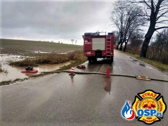 Zalana Ulica OSP Ochotnicza Straż Pożarna