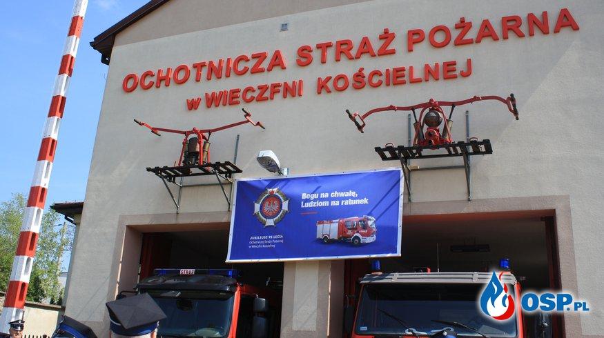 Obchody 95-lecia OSP w Wieczfni Kościelnej OSP Ochotnicza Straż Pożarna