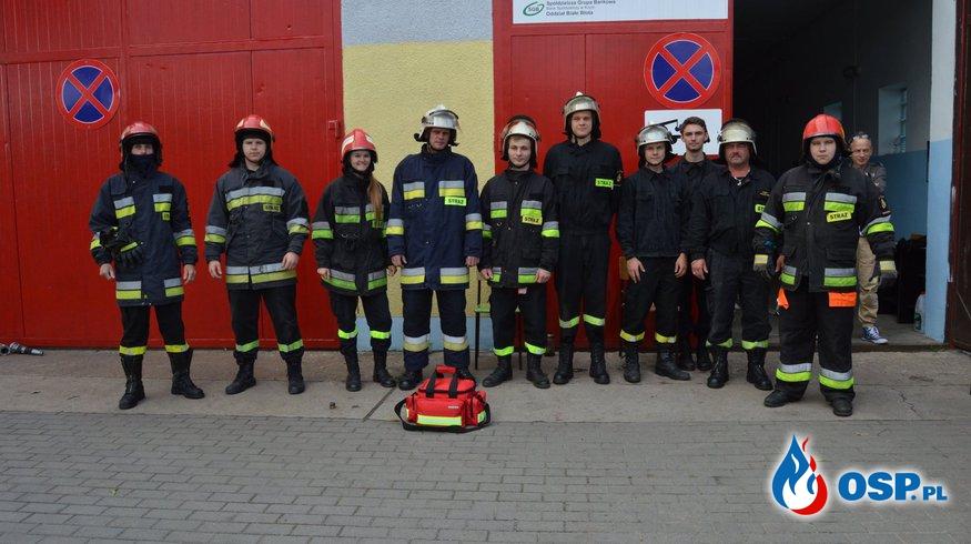 Podziękowanie OSP Ochotnicza Straż Pożarna