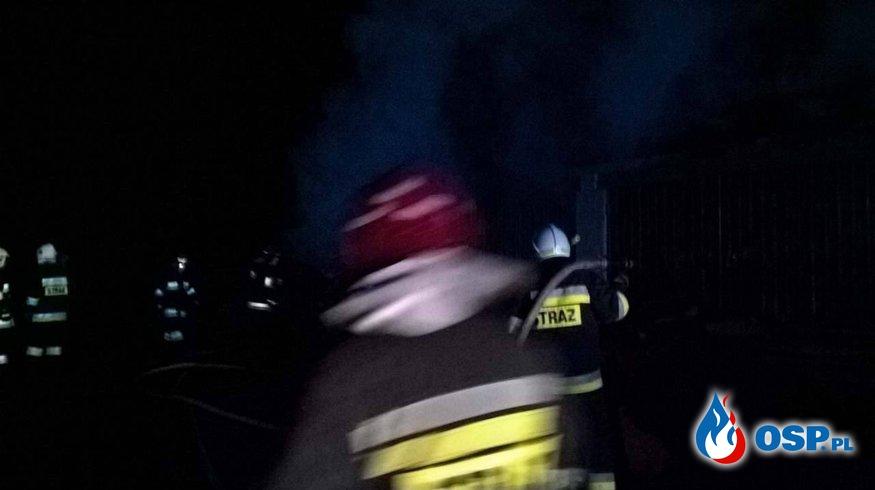 Pożar suszarni w miejscowości ŁOŻA. OSP Ochotnicza Straż Pożarna