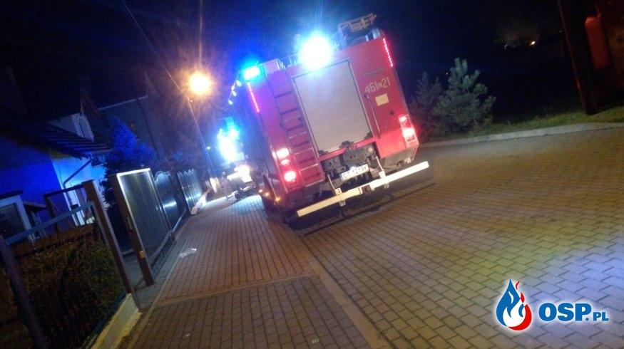 Pożar piwnicy ul. Skryta Inowrocław OSP Ochotnicza Straż Pożarna