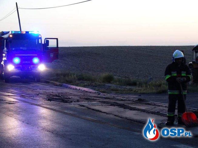 Osad z Oczyszczalni OSP Ochotnicza Straż Pożarna