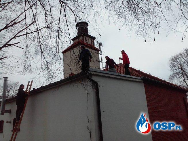 Sylwestrowe prace czas start ! OSP Ochotnicza Straż Pożarna