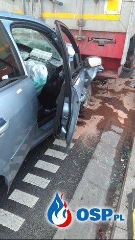 Groźny wypadek na obwodnicy Inowrocławia OSP Ochotnicza Straż Pożarna