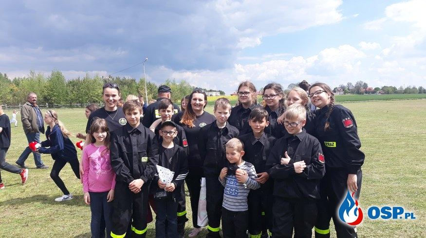 Zwycięstwo MDP Krzywice w Gminnych Zawodach Sportowo - Pożarniczych OSP Ochotnicza Straż Pożarna