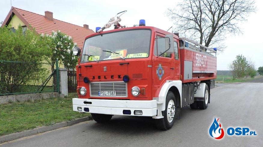 Pożar lasu Ostrowo – Alarm fałszywy OSP Ochotnicza Straż Pożarna